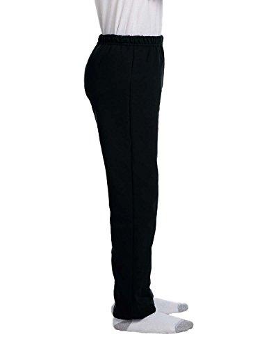 Gildan Youth Heavy Blend 8 Oz, 50/50 Open-Bottom Sweatpants - Black - XL - (Style # G184B - Original Label) ()
