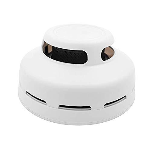 smoke detector flash light warning