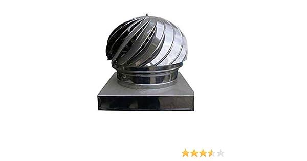 Cubierta para chimenea de acero inoxidable, accesorio para ...