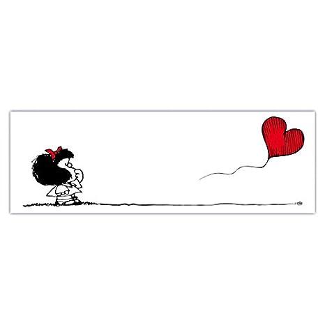 Comixando Art Area Quadro Mafalda Va Dove Ti Porta Il
