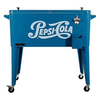 Amazon Com Permasteel 80 Quart Portable Rolling Patio