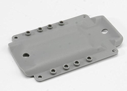 Traxxas Skidplate, Grey: 4908 T-Maxx 3.3