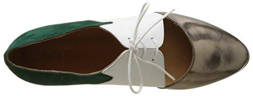 per Nordic White Scarpe Walking Suede Donna Casey Multicolore Go Calf Alu Dark Metal Emma Green Iw4PXqtW