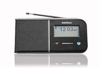 RadioShack® Touchscreen SAME Weather Radio W/ AM/FM Radio and Dual Alarm