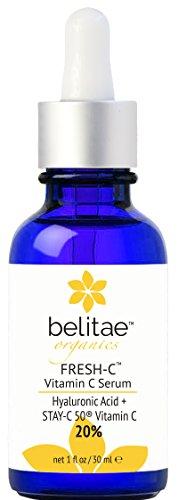 La vitamine C Serum avec l'acide hyaluronique, aide Spots Fade sombres et lisser les rides!
