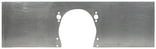 "Allstar ALL38120 36"" x 12"" x 1/4"" Thick Aluminum Front Motor Mount Plate for Small Block Chevy"