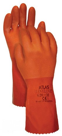 Atlas Glove C620XL Extra Large Vinylove PVC Gloves