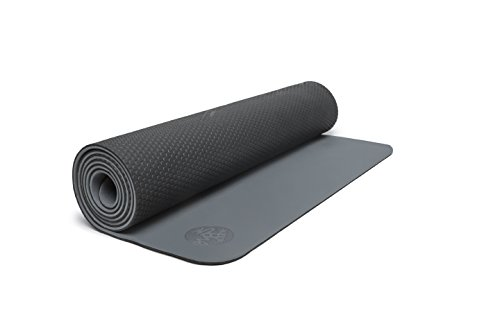 Manduka Live On Yoga and Pilates Mat, Thunder, 5 mm