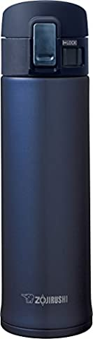 Zojirushi SM-KHE48AG Stainless Steel Mug, 16-Ounce, Smoky Blue (Travel Coffee Mug 16 Ounce)
