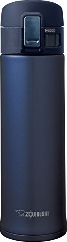 Wide Mouth Insulated Carafe - Zojirushi SM-KHE48AG Stainless Steel Mug, 16-Ounce, Smoky Blue