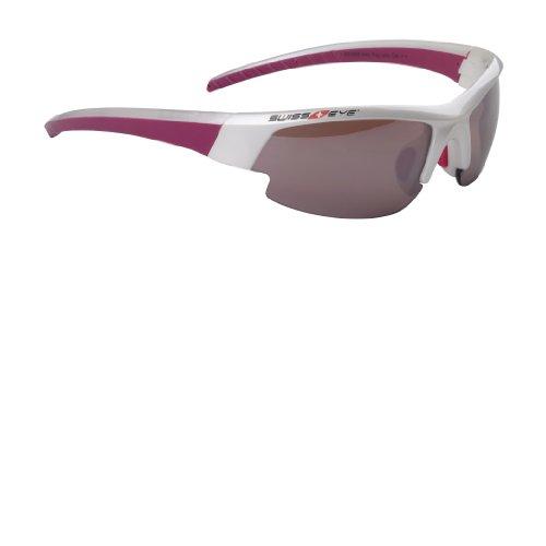 Swiss Eye Cobra Gardosa Evolution Lunettes de soleil de sport Pearl Blanc/Purple