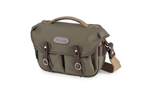 Billingham Hadley Small Pro Camera Bag (Sage FibreNyte/Chocolate Leather)