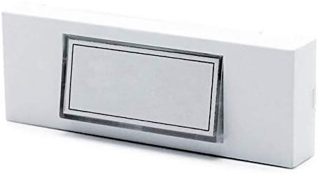 BRICELEC Bouton de sonnette pour carillon filaire