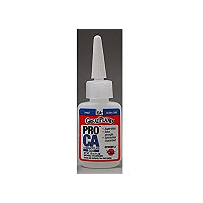 Great Planes Pro CA- Glue 1/2 oz Thick: Toys & Games
