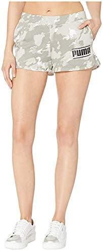 [PUMA(プーマ)] レディースパンツ・ショーツ等 Camo Pack Shorts Puma White AOP XL 2 [並行輸入品]
