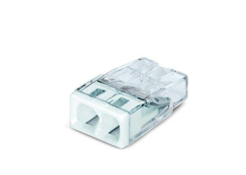 Wago 2273-202 Compact-Dosenklemme 2 x 0.5-2.5 qmm Nr.2273-202 100 Stü ck, weiß