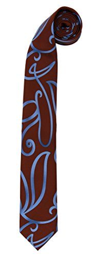 Elope Doctor Who Tenth Doctor Swirly Neck Tie - 10th Doctor Costume Tie
