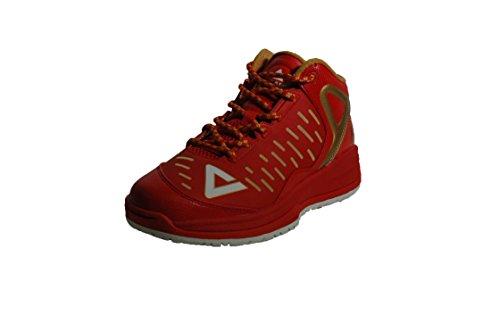 PEAK Unisex Basketballshoe TP9-II Tony Parker Kid Red