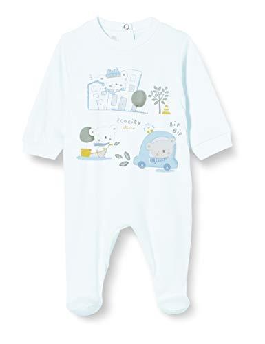 Chicco Tutina con Apertura sul Patello Pigiamino per Bambino e Neonato Unisex-Bimbi 1