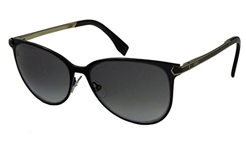 Fendi Sunglasses - 0022/S / Frame: Shiny Black Lens: Dark Gray Gradient-0022S07WH9O