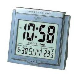 Casio Grey Digital Auto Calendar Thermo Snooze Illuminator