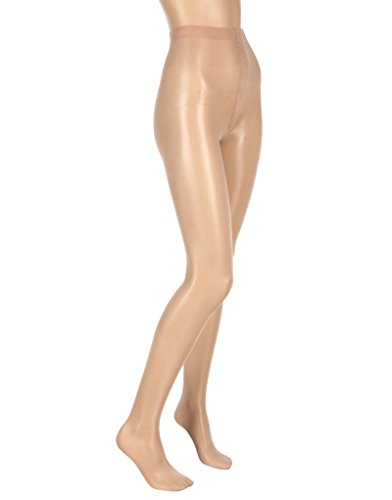Wolford Satin Touch 20 Tights, 3 for 2 Pack-Nearly Black-Large (Satin Tights)