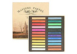 [Same day shipment] [all 24 colors set] MASTERS PASTEL 24 color set color chalk pastel chalk [limited time, limited quantities, sale sale] (japan import)