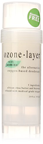 Ozone Layer Deodorant with Jasmine Fragrance - The All Natural Oxygen Based Deodorant