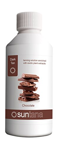 Suntana Spray tan Chocolate Fragranced Spray Tanning Solution, Dark Tan 250...