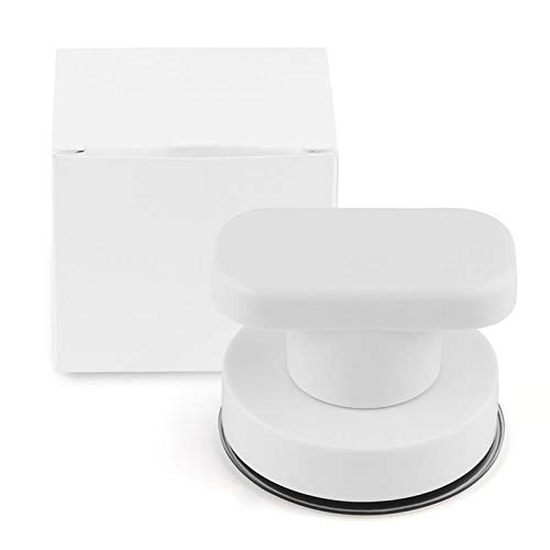 New Suction Door Handle Wall Mounted Drawer Cabinet Kitchen Glass Doors Suction Cup Pull Knob Furniture Hardware