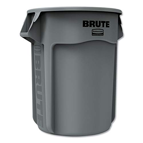 Rubbermaid FG265500GRAY Utility Container, 55 gal, Gray ()