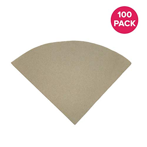 6 coffee filters unbleached - 8