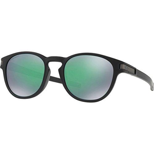 Oakley Men's Latch (a) Non-Polarized Iridium Round Sunglasses, Matte Black, 53 - Prescription Be Can Oakley Sunglasses