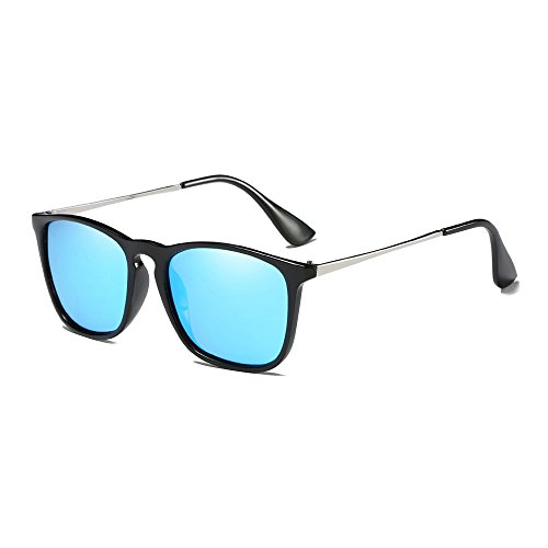 Sunglasses Polarizadas Marca estilo de Retro Gafas Outlet Azul Sol de Moda xBIw107q
