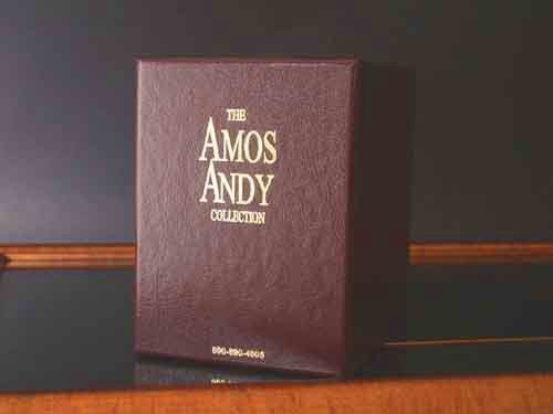 Only Complete Amos and Andy DVD Box Set with Lost TV Episodes available nowhere else ! Everything Amos n Andy on 20 DVD's, 1 CD and Book by Restoration Filmworks
