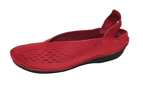 Loints of Holland Damen Ballerinas Rot