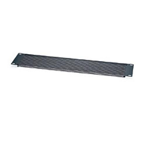Rackmount Vent Panel - 6Perforated vent panel Style: 2 rack spaces