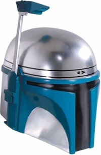 Supreme Edition One-Piece Jango Fett Helmet Costume Accessory