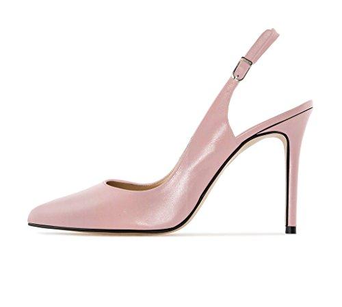 EDEFS - Zapatos con correa de tobillo Mujer Rosa Bebé