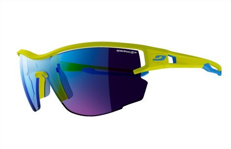 Julbo Aero Sunglasses, Green/Blue, - Running Sunglasses Trail