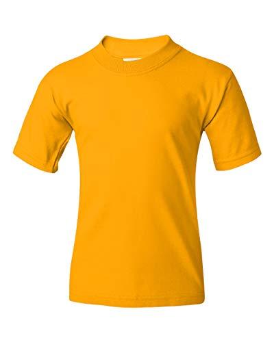 Jerzees boys HiDENSI-T T-Shirt(363B)-GOLD-S