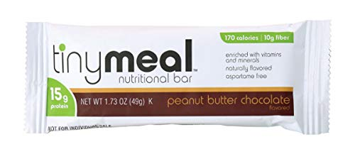 Tiny Meal by R-Kane Nutritionals High Protein Bar, Meal Replacement Diet Bar, 49g