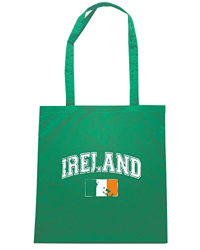 Speed Shirt Borsa Shopper Verde TIR0084 IRELAND FLAG