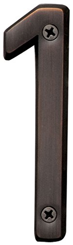 "Hy-Ko BR-420WB/1 4"" Bronze #1 House Number from Hy-ko Products Co"