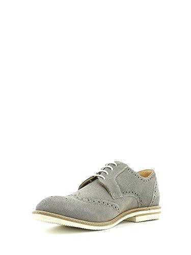 Lumberjack Alonso - zapatos Brogue Hombre Gris