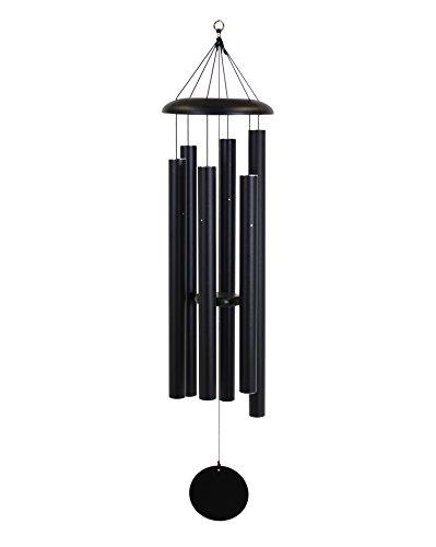 Corinthian Bells 55-inch Windchime, Black