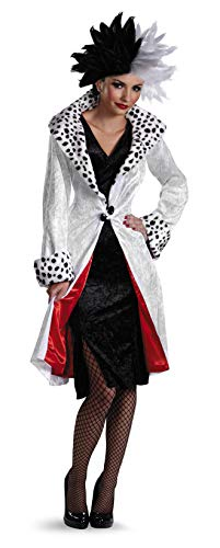 Cruella Deville Costumes (Disney's Cruella D'Evil Adult Costume by)