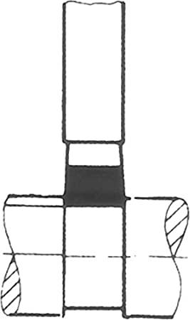 Breite Hartmetall Drehmeissel DIN 4976 P20 ISO 4 10 x 10 x 90 mm