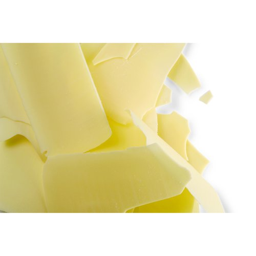 White Chocolate Flat Thin Shavings - 5.5 Lb Bag
