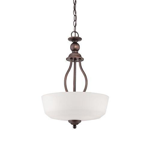 Millennium 3083-RBZ Three Light Pendant Bronze/Dark